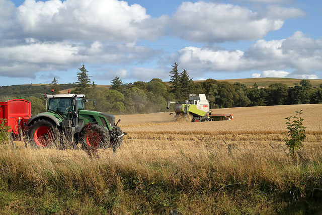 Harvesting at Cromarty