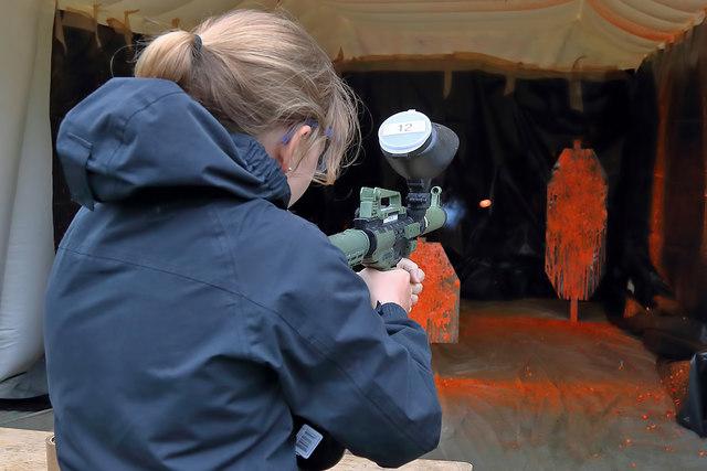 Paintball gun fun
