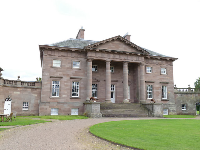 Front of Paxton House