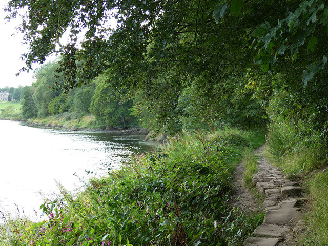 Path by the Tweed