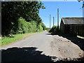 SJ5762 : Winterford Lane at Winterford Farm by Jeff Buck