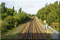 SK4899 : Looking towards Mexborough Station by Ian S