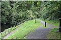 SN1942 : Riverside footpath, Cilgerran by M J Roscoe
