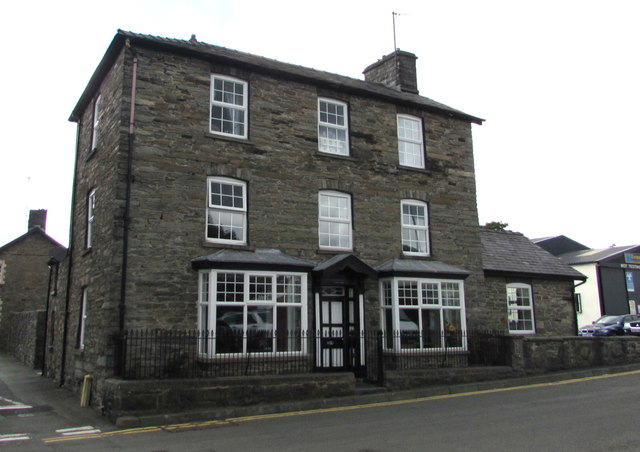 Three-storey house, Church Street, Rhayader