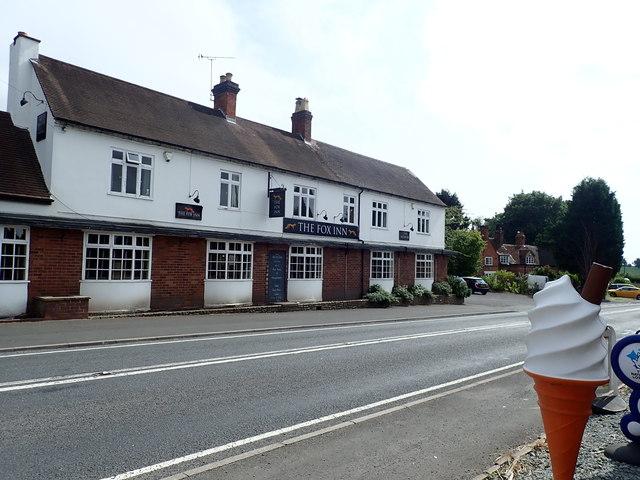 The Fox Inn, Chaddesley Corbett
