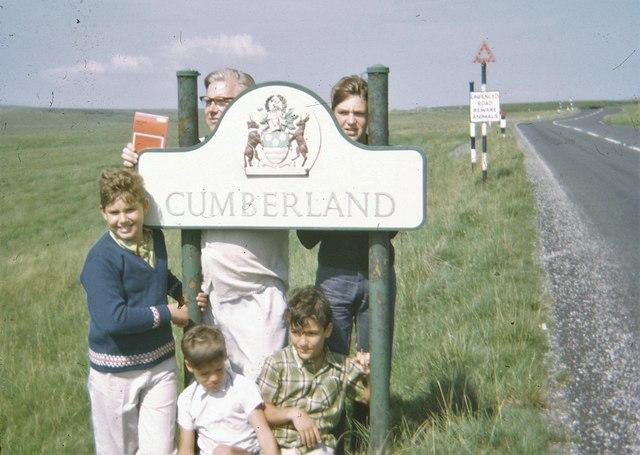 Cumberland County Boundary