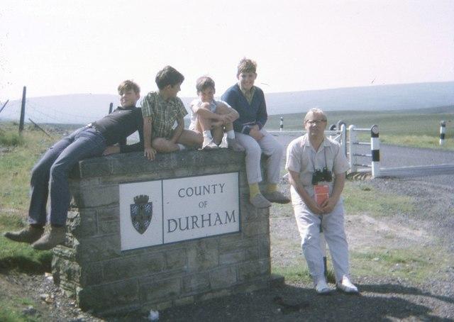 County of Durham boundary (1970)