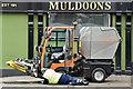J3474 : Mechanical street sweeper, Belfast (September 2018) by Albert Bridge