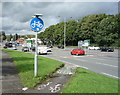 SD7910 : Cycle path onto the A58, Bury by JThomas