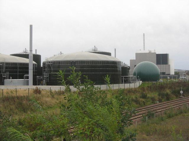 Waste handling facilities at Milllerhill
