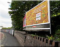 ST5871 : Tesco pasta advert on a Malago Road billboard, Bedminster, Bristol by Jaggery