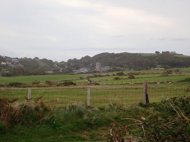 View to Llanengan from the car park at Porth Neigwl
