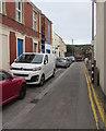 ST3261 : On-street parking, Little George Street, Weston-super-Mare by Jaggery