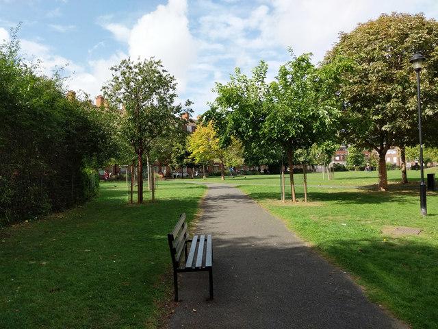 In Tabard Gardens, SE1