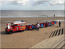 TF5085 : Mablethorpe: the Sand Train by Chris Downer