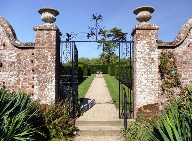 Gateway to the Walled Garden at Polseden Lacey