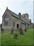 NZ2422 : St. Michael's church, Heighington by pam fray