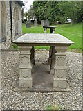 NZ2422 : Tomb of the Surtees family, Heighington by pam fray