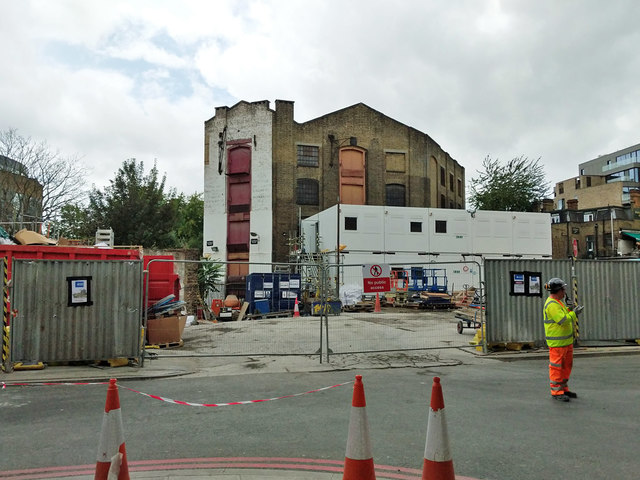 Old warehouse between Vinegar Yard and Snowsfields, SE1