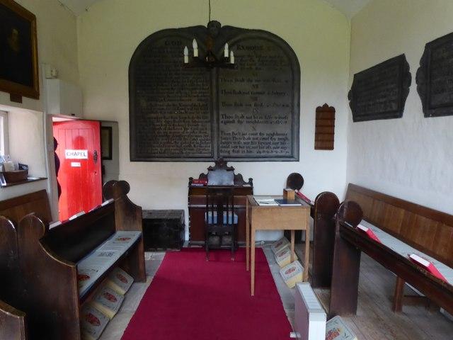 Inside the chapel of St Anne's Hospital, Appleby