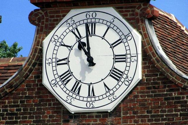 Christchurch Mansion Clock