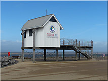 SD4364 : Morecambe Sailing Club race office by Robin Drayton