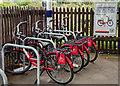 NY9464 : Bike & Go - Hexham station - September 2018 by The Carlisle Kid
