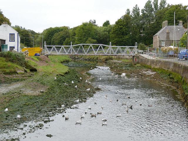Footbridge over the Eye Water