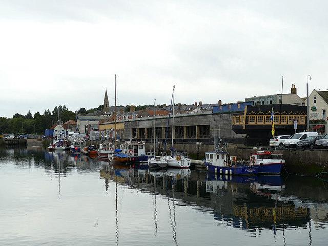 Eyemouth fish market