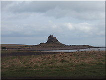 NU1341 : Lindisfarne Castle viewed from across the Ouse by Ajay Tegala