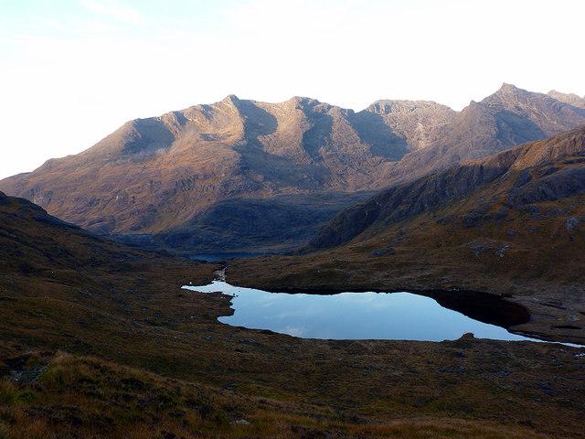Hills above Loch Coruisk by John Lucas