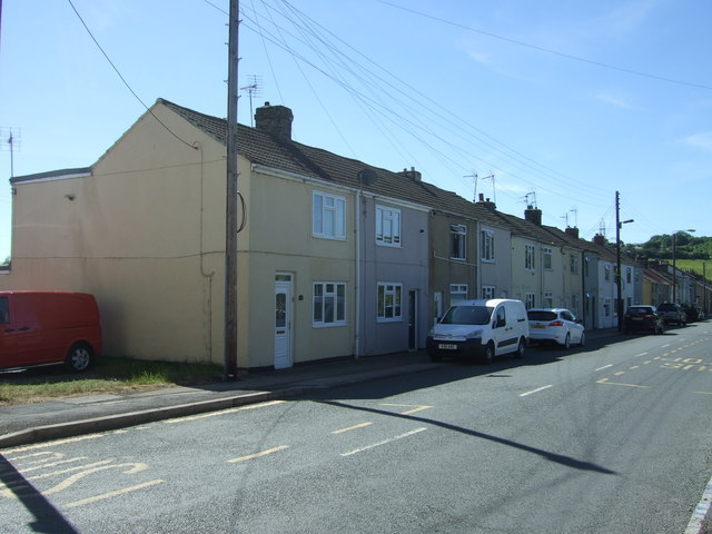 Houses on Gordon Lane, Ramshaw
