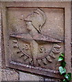 SP2032 : Festival of Britain 1951 emblem, Bourton Road, Moreton-in- Marsh by Jaggery