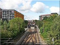 SD8010 : Metrolink tram station, Bury by Christine Johnstone