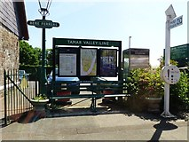 SX4563 : The railway station, Bere Ferrers by Ruth Sharville