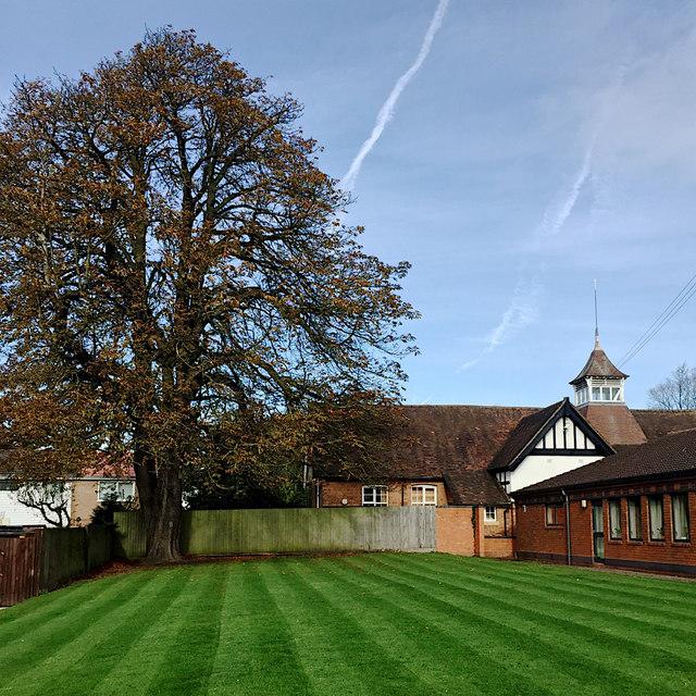 Green at All Saints' Church, Vicarage Field, Warwick