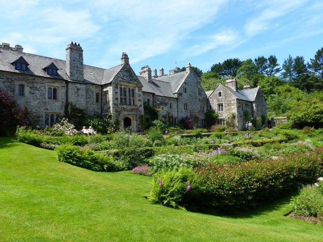 Cotehele House and formal garden, near Calstock