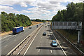 SP2862 : M40 east of junction 14, south of Warwick by Robin Stott