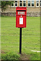 NU2118 : Postbox on The Green, Rennington by Graham Robson