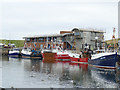 NT9464 : Trawlers at Eyemouth harbour by Stephen Craven