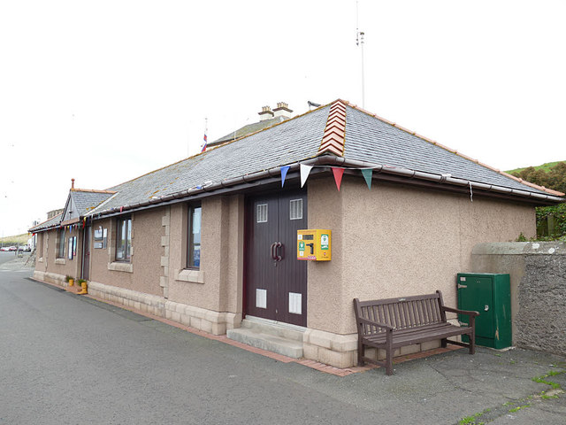 RNLI station at Eyemouth harbour
