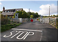 NH5963 : Foulis level crossing by Craig Wallace