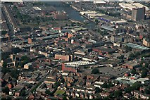 TA2609 : Grimsby Town Centre and Station: aerial 2018 by Chris