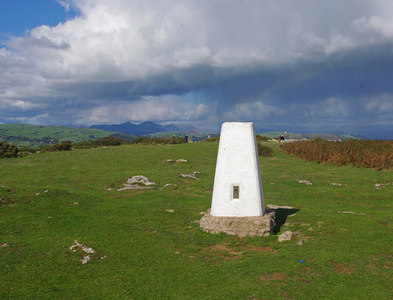 SD2874 : Trig Point, Birkrigg Common by Ian Taylor