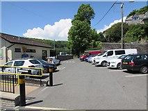 SX2553 : Looe railway station car park by Jaggery