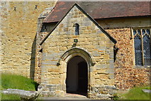 TQ6242 : Porch, Old Church of St Peter by N Chadwick