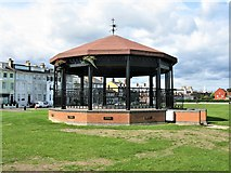 TR3751 : Memorial Bandstand, Walmer Green, Deal by G Laird