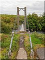 NC5704 : Suspension bridge over the River Shin by valenta