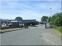 NZ1525 : Industrial estate entrance off Copeland Lane, Evenwood by JThomas