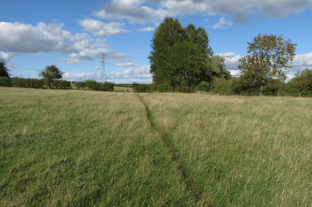 Bridleway towards the A43